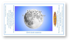 Peace Full Moon Lunar Eclipse